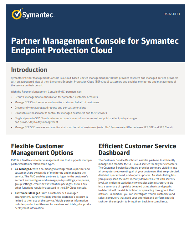 Symantec Business Security Learning Center